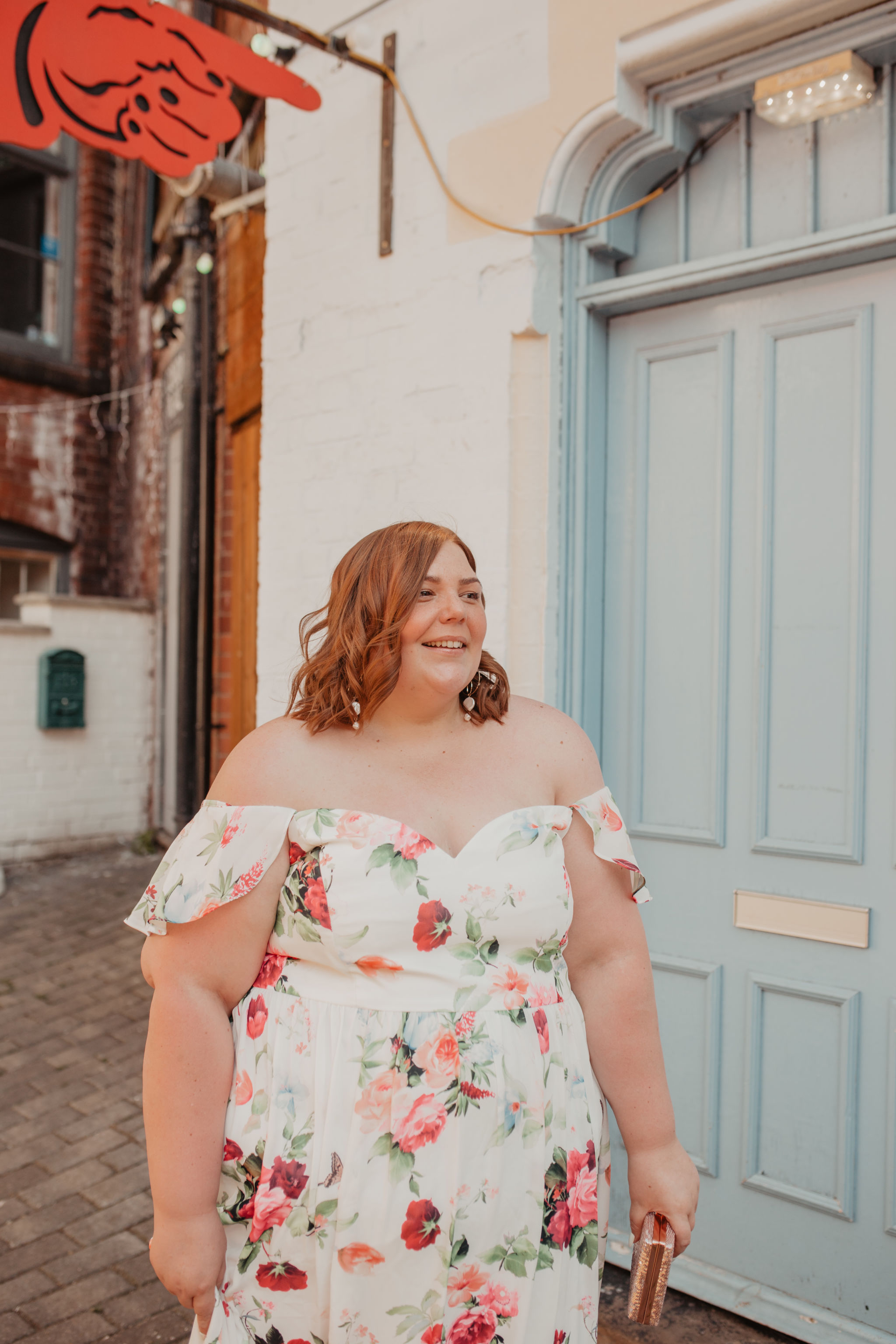 how to wear a plus size maxi dress